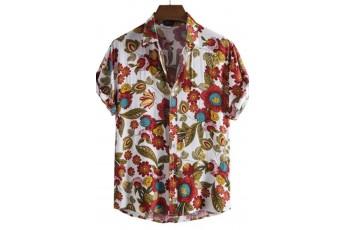 Men's Floral Printed Shirt