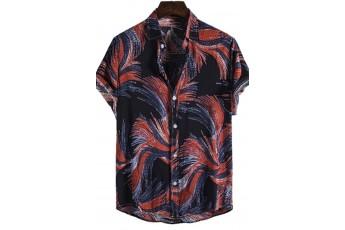 Abstract Printed Men Shirt