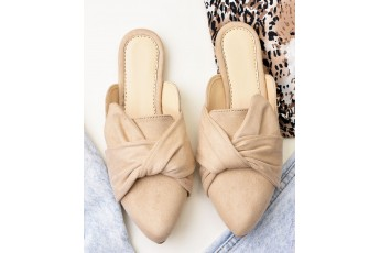 Made with style suede mules