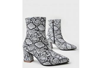 Havanna wild print boots