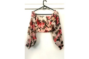 The Floral Smoking Top