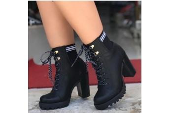 Walk of fame platform shoes