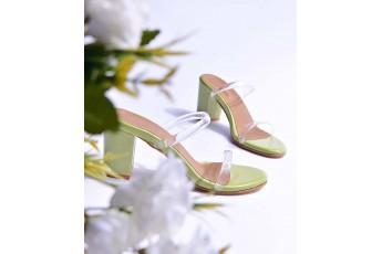 Focus on the good transparent heels