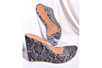 Take me to nowhere transparent heels