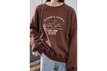 Cinnamon Oversized sweatshirt