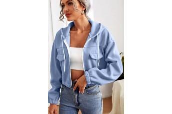 Kentucky Blue winter fleece jacket