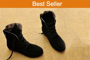 Motorcycle Ankle Boots-black
