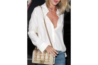 Button- down White Shirt