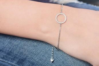 Lil circle bracelet